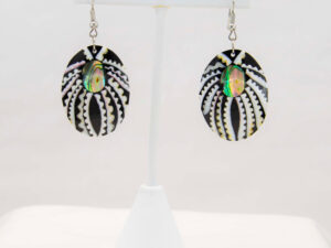 Handmade-Mexican-Abalone-shell-shakira-beads-Earrings-002