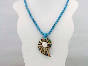 Handmade-Mexican-Abalone-shell-shakira-beads-Necklace-007