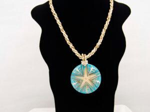 Handmade-Mexican-Starfish-shell-shakira-beads-Necklace-009