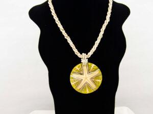 Handmade-Mexican-starfish-shell-shakira-beads-Necklace-013