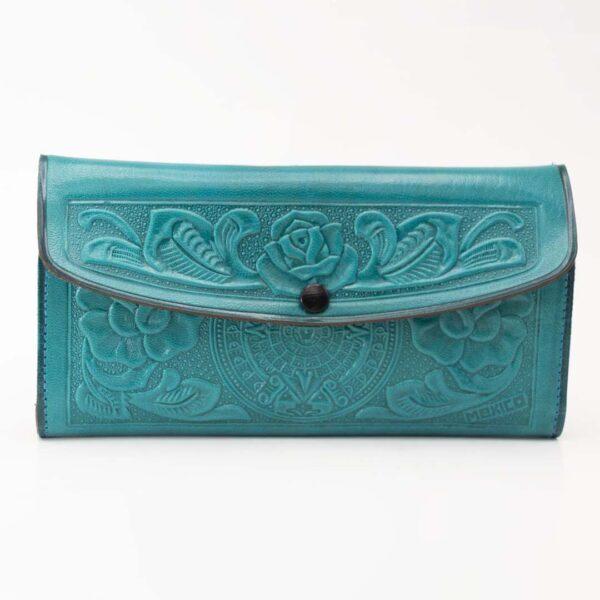 Handmade hand-tooled-mexican-women-wallets-kangaroo-001