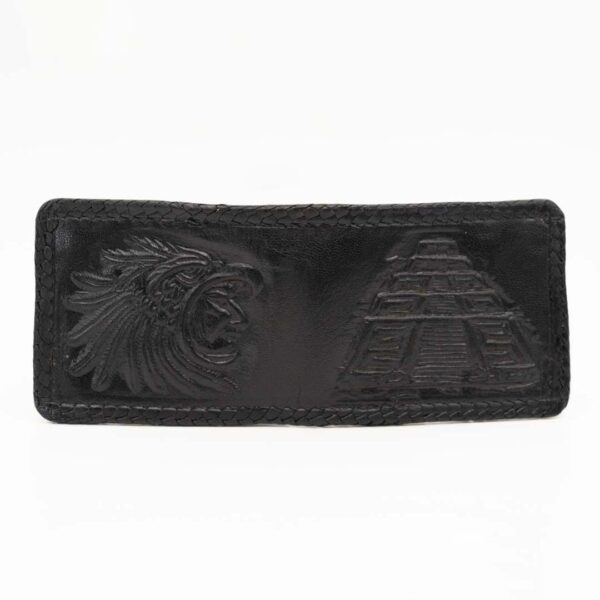 handmade-handtooled-mexican-laced-wallets-pyramid-warrior-049
